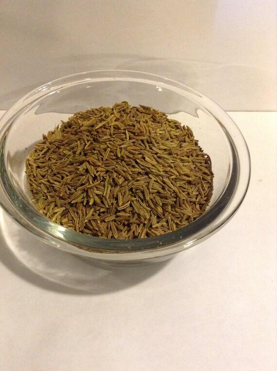 1 lb Caraway Seeds Organic  no sulfites no soy no gluten