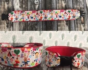 Alice in wonderland bracelet, i.d bracelet, ribbon, personalize