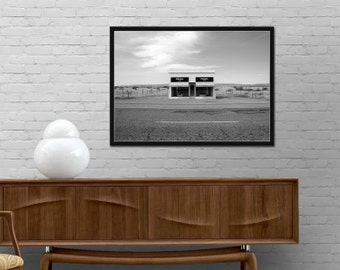 Prada Marfa Shop Poster Prada Marfa Texas shop Gossip Girl Modern Fashion Print Fashionista design wall art Girl room decor Best price art