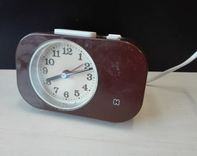 Dutch vintage alarm clock
