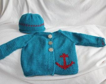 Ahoy Matey sweater set