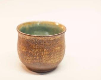 ceramic bowl, pottery bowl, stoneware bowl, patterned bowl, serving dish, cereal bowl