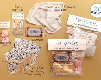NO STRESS - Self-care and Relaxation Kit - Gift Idea