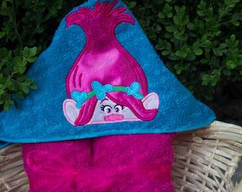 Princess Troll Hooded Towel