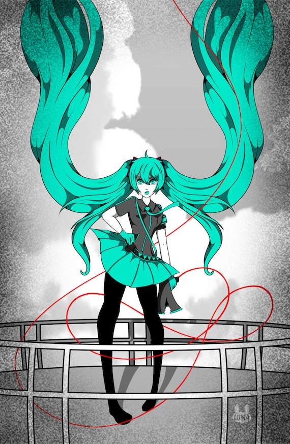 "Miku - Love Is War 11""X17"""