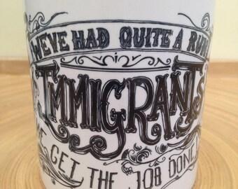 Hamilton 'Get the Job Done' Mug
