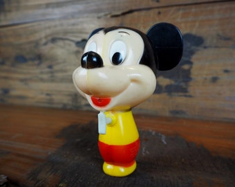 Rare Vintage Mickey Mouse Squirt Gun made by Durham from the 1970's