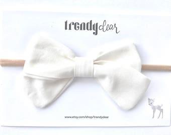 Baby Headband | Bow Headband | Nylon Headband | Bow Hairclip