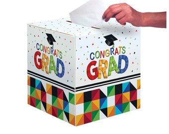 Graduation 2017 Gift Card Box/Graduation Gift Box Set/Graduation Party Supply