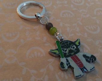 Yoda Keychain ! Star Wars ! 2