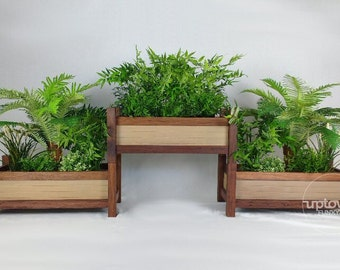 Vertical garden/outdoor planter box/vertical planters/planter box/planter boxes/timber planter box/wooden planters/reclaimed timber planters