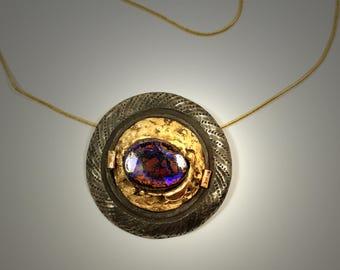 opal neckace