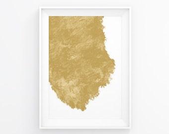 Gold Print, Gold Wall Decal, Wall Prints, Gold Poster, Bedroom Art, Abstract Print, Gold Wall Art, Abstract Poster, Gold Abstract Art, Decor