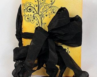 Handmade Orange Travel Journal - Art Journal - Orange Journal - Flourish Journal - Mixed Media Journal - Mixed Media Travel Journal - 3-024