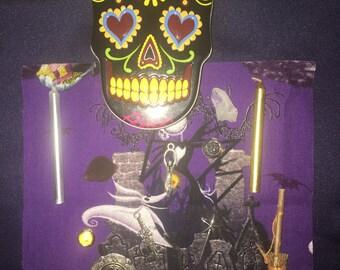 Mini Sugar Skull Travel Altar