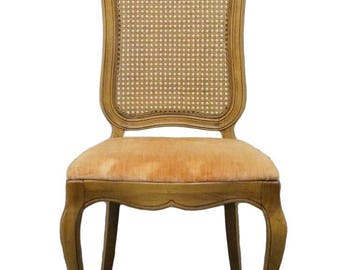 THOMASVILLE Tableau Collection French Provincial Cane-Back Side Chair 701-9
