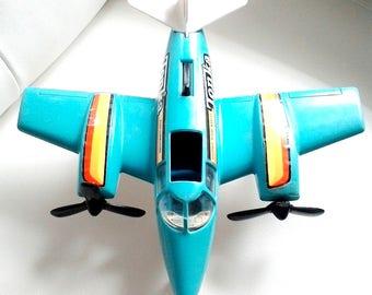 Vintage Tonka Hand Commander Turbo Prop Plane Toy 1979