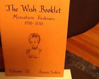 Wish booklet #7 miniature fashion