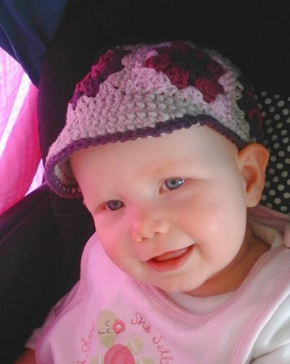 Crochet PATTERN, Crochet VISOR hat pattern for baby, Sun ...