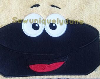 Hockey Puck Hooded Towel
