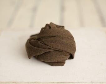 Newborn stretch knit wraps - Olive