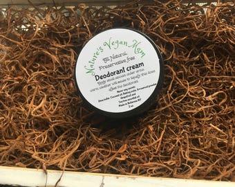 Vegan Deodorant Cream