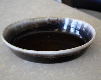 Oval Brown Drip Pfaltzgraff Baking Dish