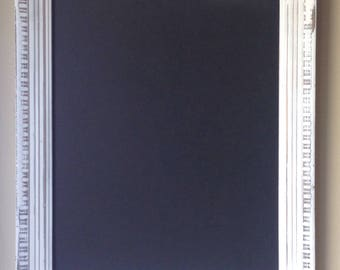 "The White Falcon 16"" x 20"" vintage frame Chalkboard Reclaimed and nice!"