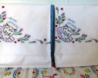 Sweet Dreams pillow cases -H1534