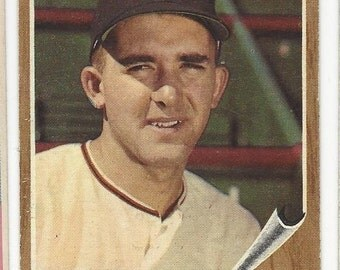 1962 Topps MIKE McCORMICK San Francisco GIANTS original vintage baseball card number 107