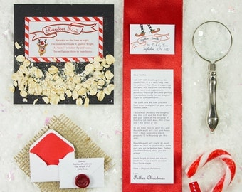 Miniature Letter from Father Christmas, Made by the Elves