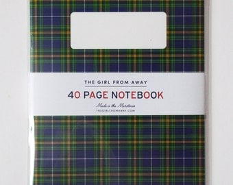 Nova Scotia Tartan Notebook