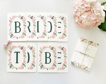 Bride To Be Banner, Bride To Be Garland