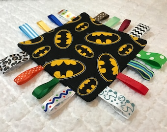 Batman Sensory Crinkle Toy