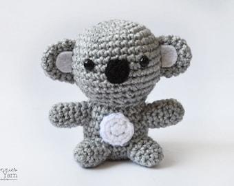 Kai the Little Koala Crochet Pattern - Instant PDF Download