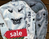 ON SALE - Harry Styles Tattoo UPDATED 1D One Direction Boy Band SweatShirt