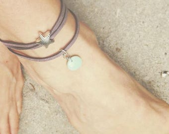 Bracelet ankle By The Sea