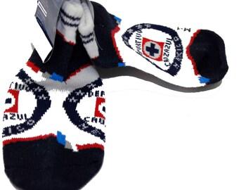 Cruz Azul Mexico Calceta Baby Soccer Team Socks -Cruz Azul Kid Sock 6 to 12 months