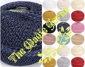 CROCHET THREAD, Cotton crochet thread, viscose, silk crochet thread,
