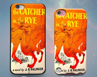 Catcher in the Rye Book Cover Salinger Book Lover Reader Holden Caulfield Rubber Case for iPhone 7 6s 6 Plus iPhone SE 5s 5 5c iPod Touch