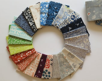 Free shipping~Cotton + Steel Flower Shop Fat Quarter Bundle by Alexia Abegg | 4999-59 (24pc)