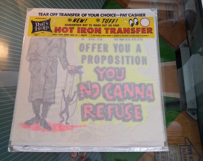 Vintage Iron On Transfer
