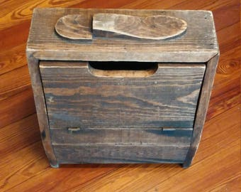 Giant Grip Manufacturing Horse Shoe Crate made in to a Shoe Shine Box