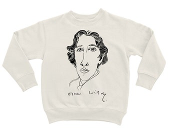 "Sweatshirt ""Oscar Wilde. Graphics"""