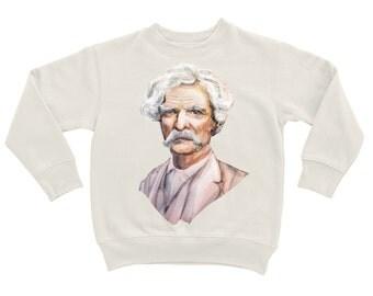 """Sweatshirt """"Mark Twain"""""""