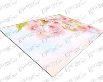 Print on Canvas pink cherry blossom tree branch X1364