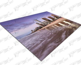 Print on Canvas QE Surfers Paradise Beach Queensland Australia X1456