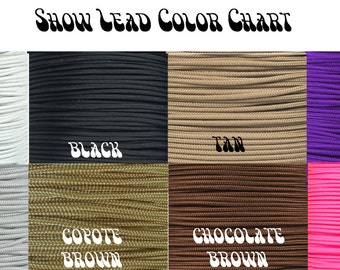 Plain Show Lead * Slip  Style* Martingale* or *Choker* Your Choice! Large Breed or Toy Breed