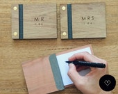 1 Wedding vow book or set of 2 vow book wedding vow books rustic wedding vows rustic vow book wooden vow books wooden wedding book rustic