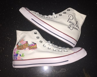 Panic!at the Disco inspired shoes